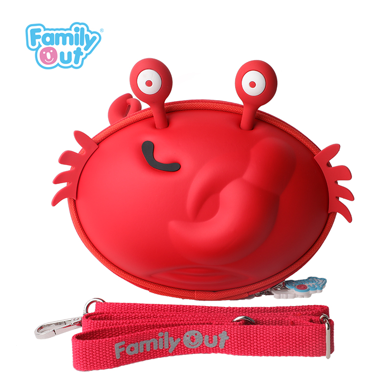 螃蟹鲍勃单肩包
